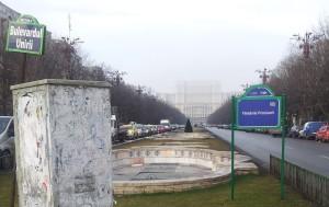 Vedere din București. Palatul Parlamentului văzut de la Fântâni. Foto: Călin Hera