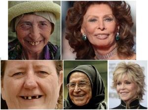 Diferite tipuri de zâmbet. Colaj de Călin Hera