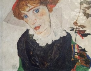 Egon Schiele, Portretul lui Wally Neuzil (1921), Muzeul Leopold, Viena. Foto: Călin Hera
