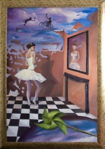 Zburătorul, pictură de Zoltan Lorencz