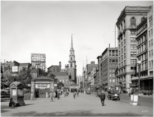 Tremont Street, Boston, 1923. Sursa: Shorpy