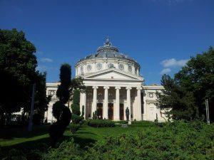 Vedere din București. Ateneul Român văzut din față. Foto: Călin Hera
