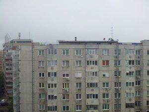 Vedere din București. În plin proces de reabilitare termică (electorală). Foto: Calin Hera