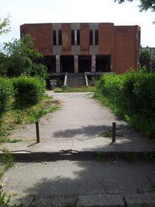 Vedere horror din Hunedoara. Ce-a rămas din Cinema Modern. Foto: Calin Hera