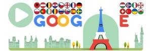 euro google doodle