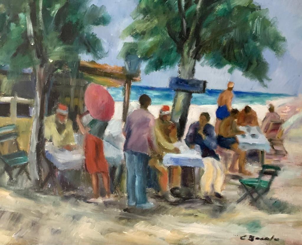 Constantin Bacalu_Pe malul mării (1934)
