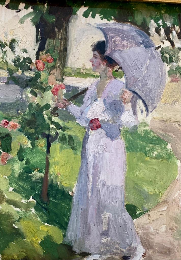 Nicolae Vermont_Femeie cu umbrelă (1890-1900)